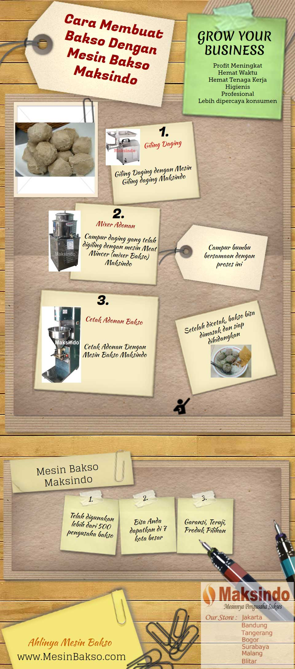 cara membuat bakso dengan mesin Cara Membuat Bakso dengan Mesin Bakso Maksindo